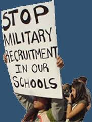 Get the Military Out of School